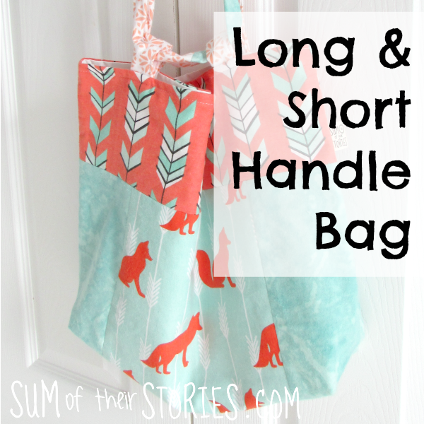 Adjustable handle bag tutorial