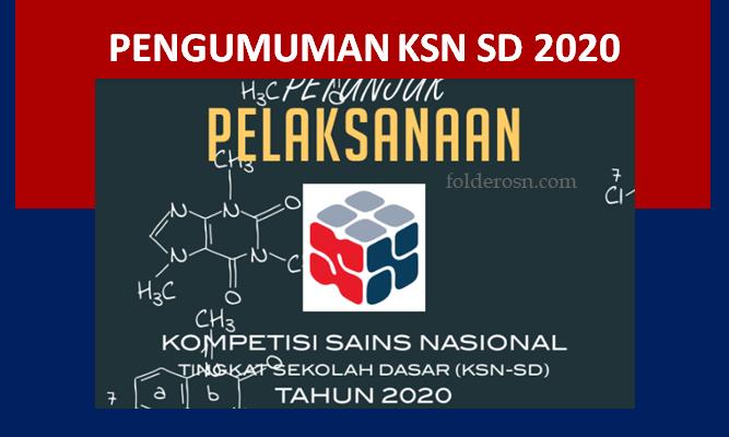 Pengumuman KSN SD 2020