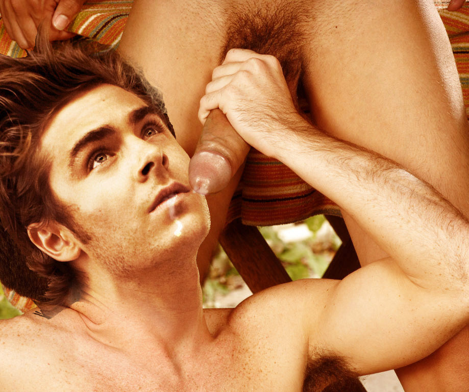 Idea Zac effron naked with boner and cum think, that