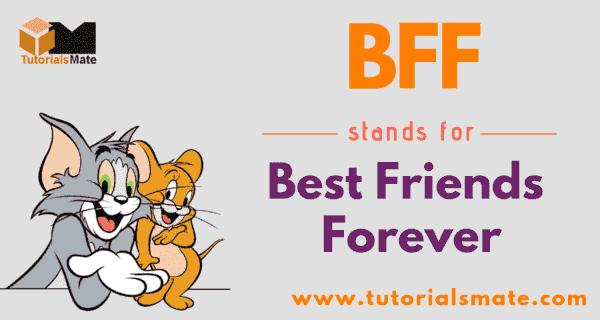 BFF Full Form