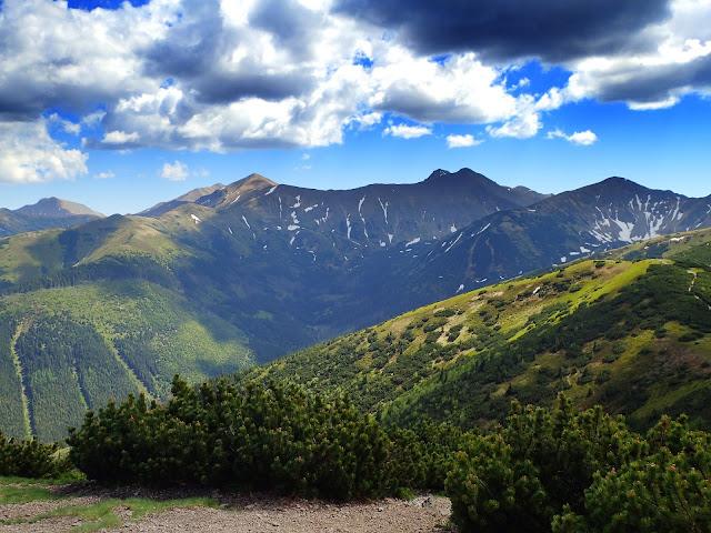 Chmury nad Tatrami Zachodnimi