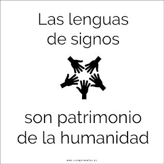 Las lenguas de signos son patrimonio de la humanidad