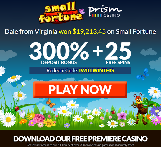 IWILLWINTHIS Bonus coupon from Prism Casino