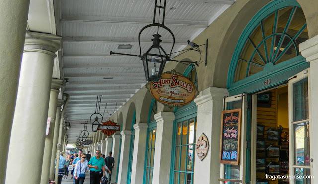 Loja de doces Aunt Sally's Original Pralines, Nova Orleans