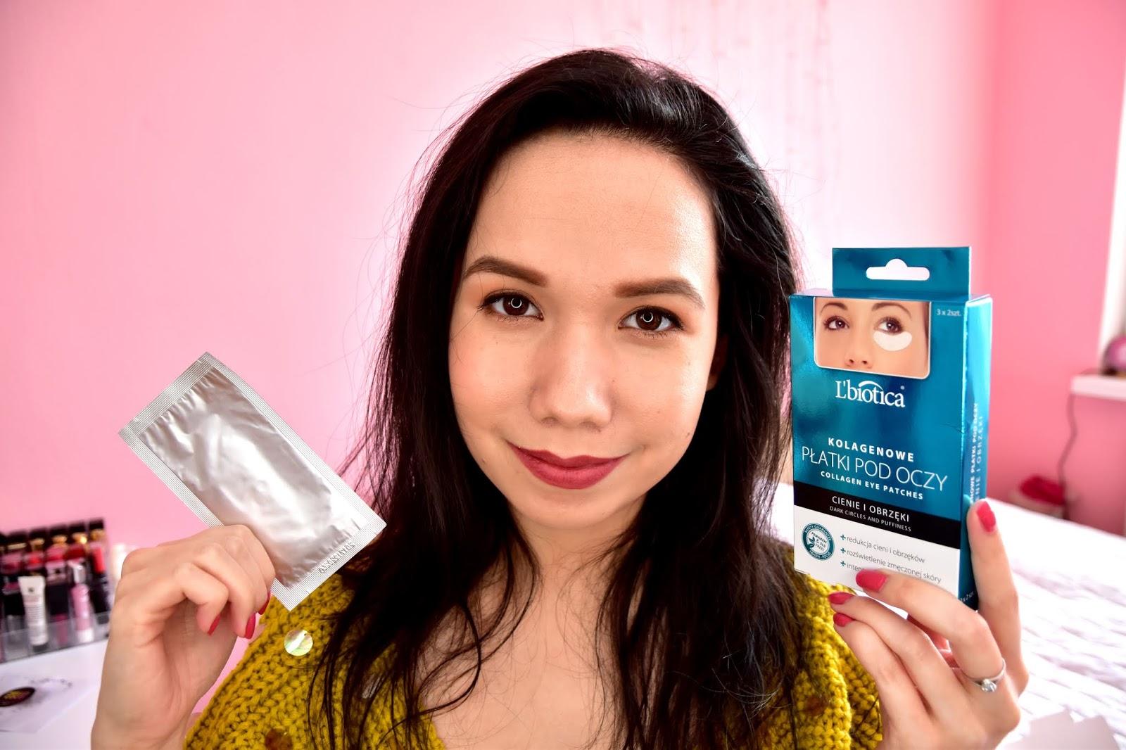 Lbiotica kolagénová maska na oči