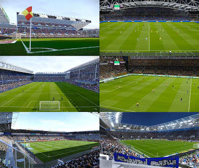 PES 2020 Stadiums Addon BiRaitBec