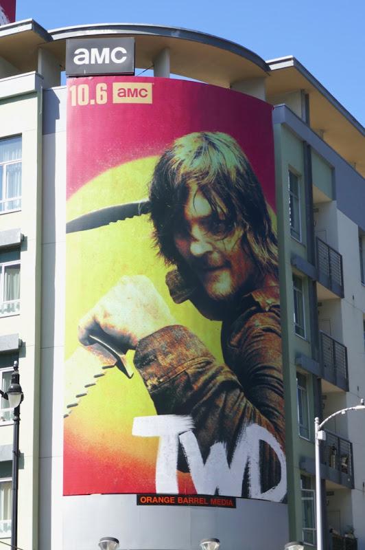 Walking Dead season 10 Daryl billboard