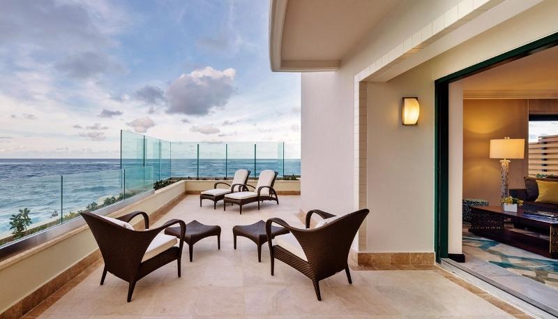 Bedroom Oceanfront Suite British Virgin Islands