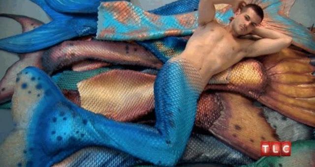 Erick ducharme pria dengan obsesi menjadi ikan duyung