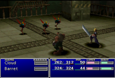ultra-rom final fantasy vii - Gameplay on PSX1.13 - 03