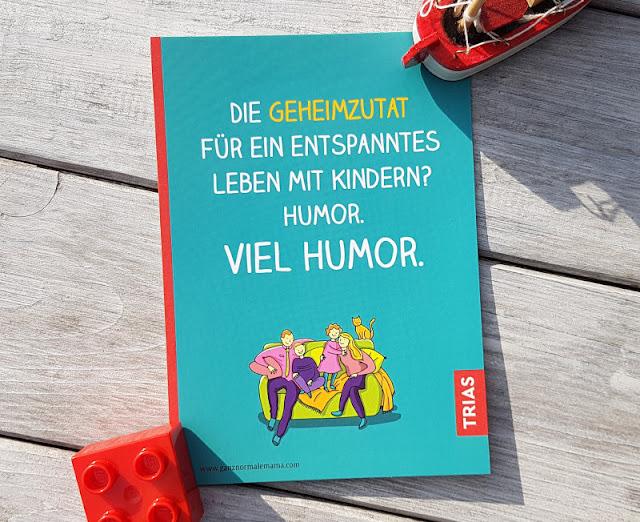"""Rituale, Routinen und richtig viel Humor: Nathalie Klüvers neues Buch """"Afterwork Familie"""". Schwierige Situationen mit Kindern einfach humorvoll lösen."""