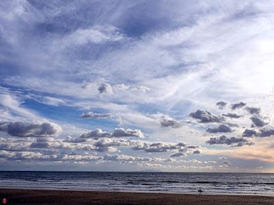 Winter seascape: Yuigahama-beach