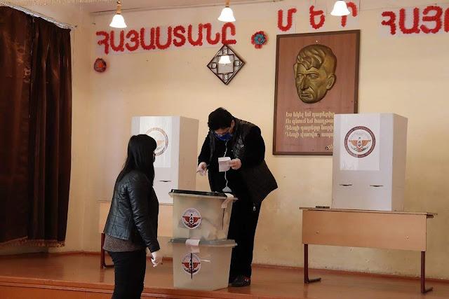 República de Artsaj nuevo presidente