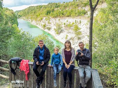 Arkadij und Freunde am Canyon www.WELTREISE.tv