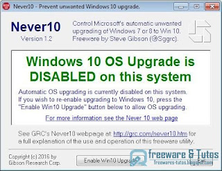 Never 10 ; Windows 10