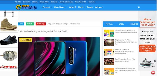 Iklan Google Adsense Melayang di Kiri dan Kanan Blogspot