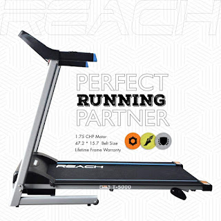 REACH T-5000 Treadmill for Fitness