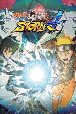 Capa do Naruto Shippuden: Ultimate Ninja Storm 4