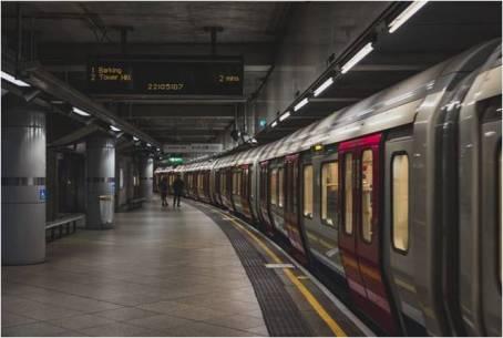 Metro underground station