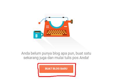 membuat blog dengan mudah di blogger