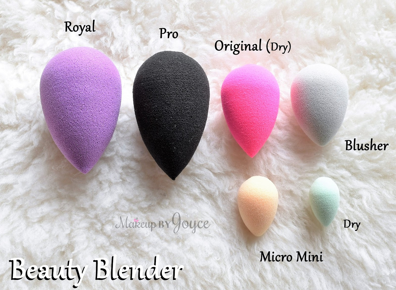 original beauty blender size