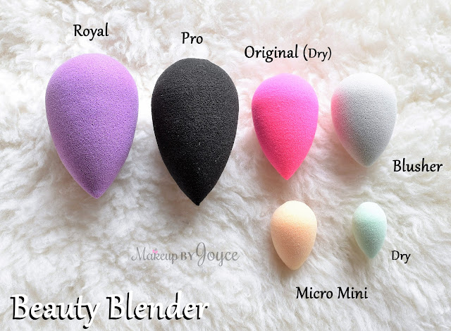 BeautyBlender Makeup Sponge Royal Original Blusher Pro Micro Mini Damp Dry Review