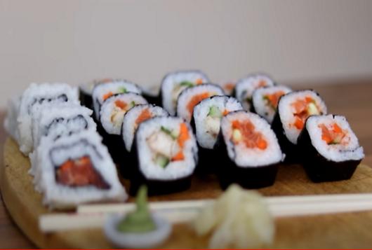 2 Easy Sushi Recipes