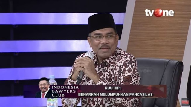 Jadi Sorotan Netizen, Penampilan Baru Ali Mochtar Ngabalin Tanpa Sorban
