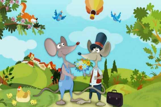 Dongeng Binatang Si Tikus Desa dan Si Tikus Kota