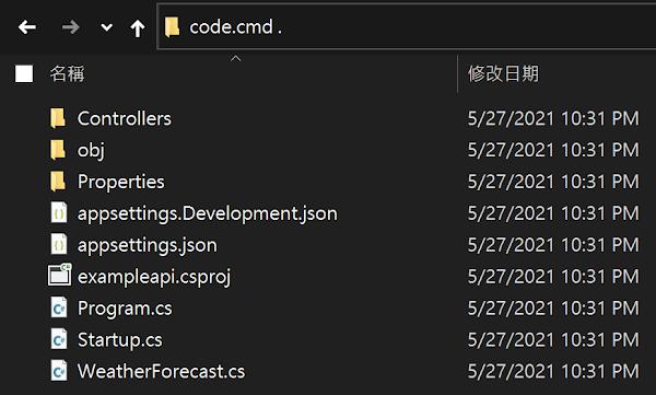 vscode code.cmd
