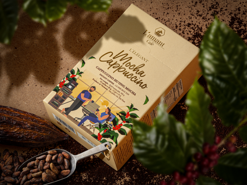 L'amant Café – Organic to the world