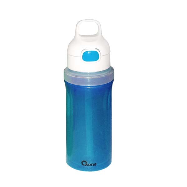 OX-300 Botol Minum Oxone Rainbow Twist & Turn Bottle 300ml - Biru