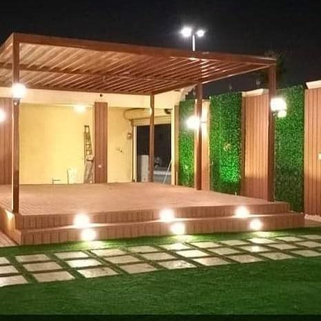 تنسيق ممرات الحدائق بالعشب الصناعي - تنسيق حدائق ممرات بالعشب في الرياض وتنسيق الحدائق المنزلية