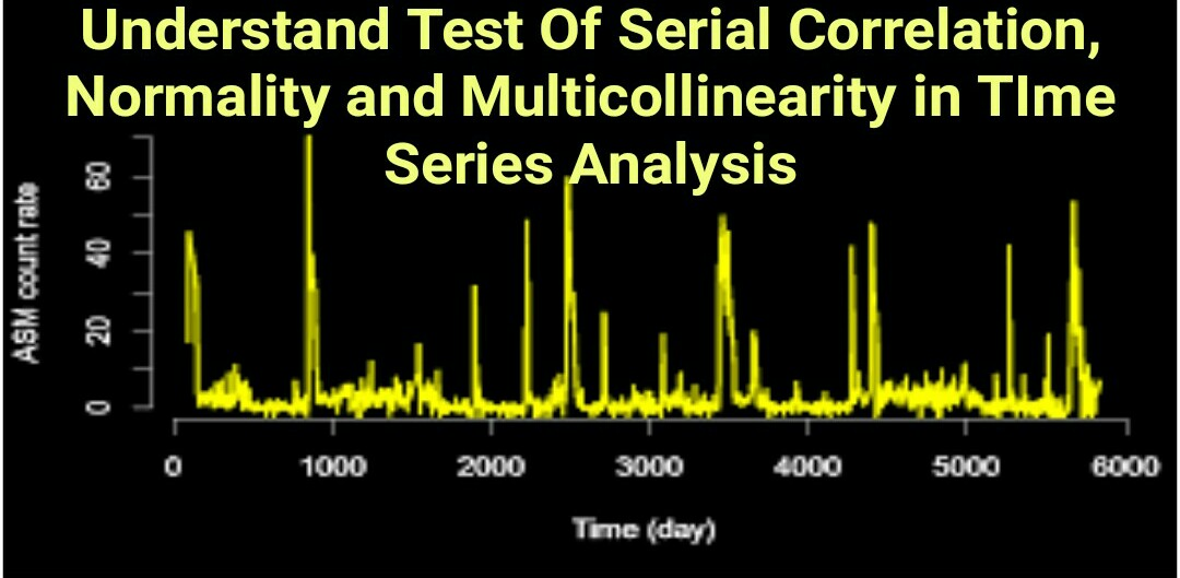 Understand Test Of Serial Correlation, Normality and Multicollinearity in TIme Series Analysis