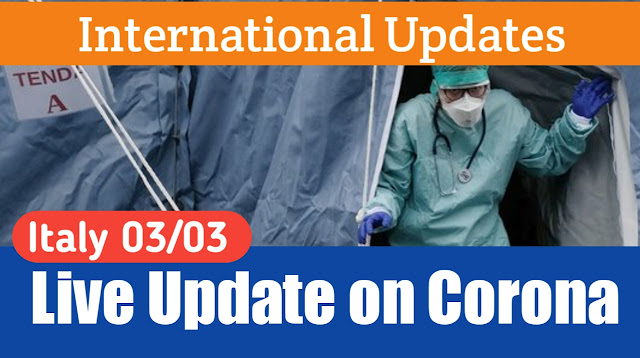 Live Updates on Corona 03/03/2020