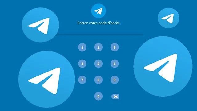 Protéger les messages Telegram avec mot de passe.