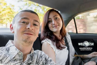 Uber Fahrt in Cape Town www.WELTREISE.tv