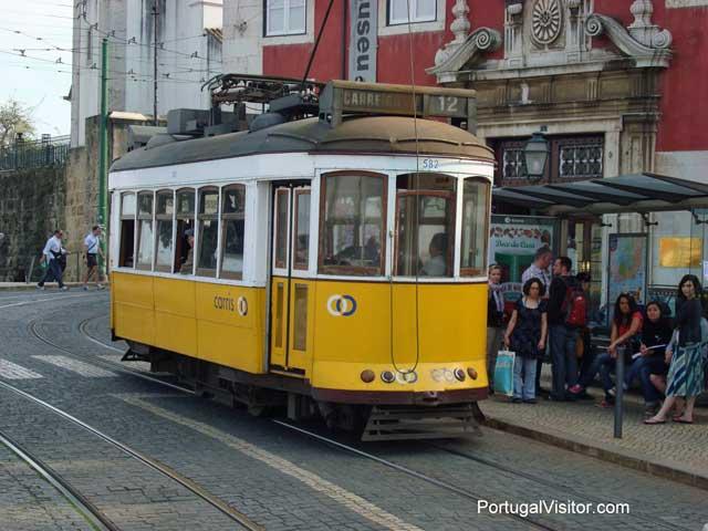 Tram number 12