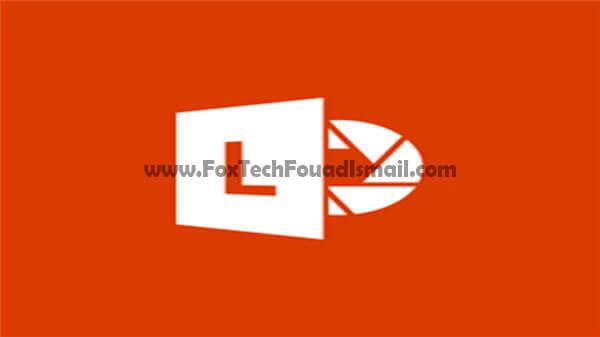 تطبيق Microsoft Office Lens