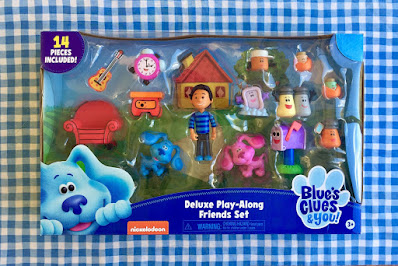 Blues Clues And You Kids Toy Play Set