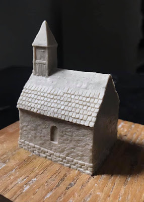 10mm Small Stone Chapel is slowly taking shape
