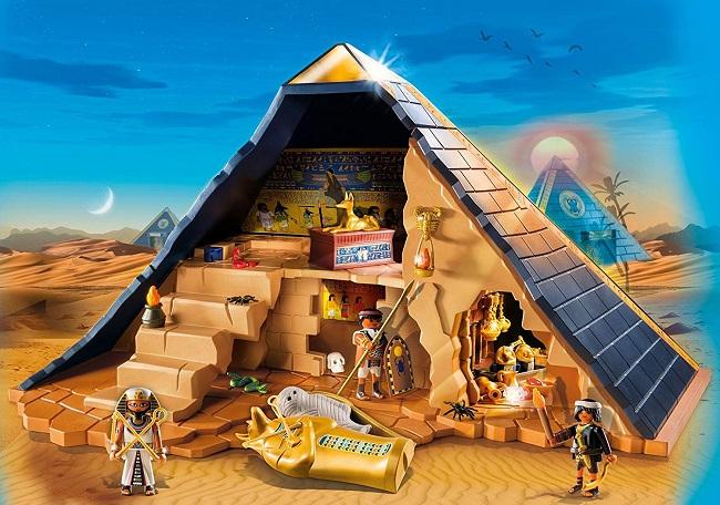 Playmobil - Pirámide del Faraón en Amazon