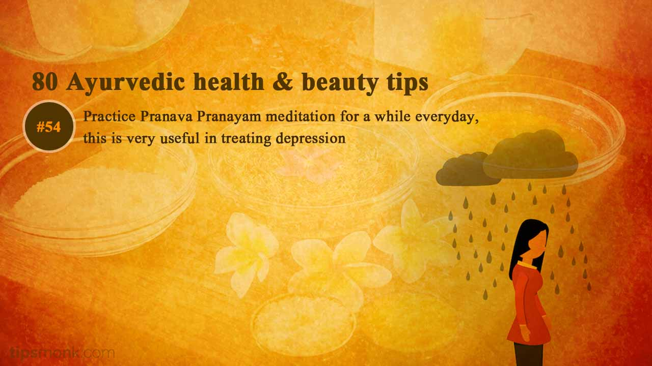 Ayurvedic health tips for anxiety and depression from Ayurveda books - Tipsmonk