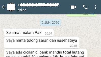 Blokir Sepihak Bank Mandiri (32)