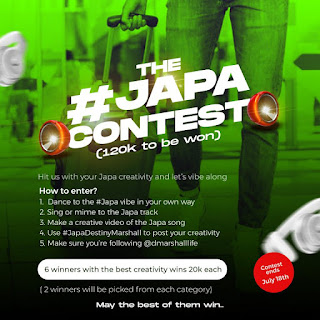 GX GOSSIP: The #Japa Instagram contest (120k to be won)