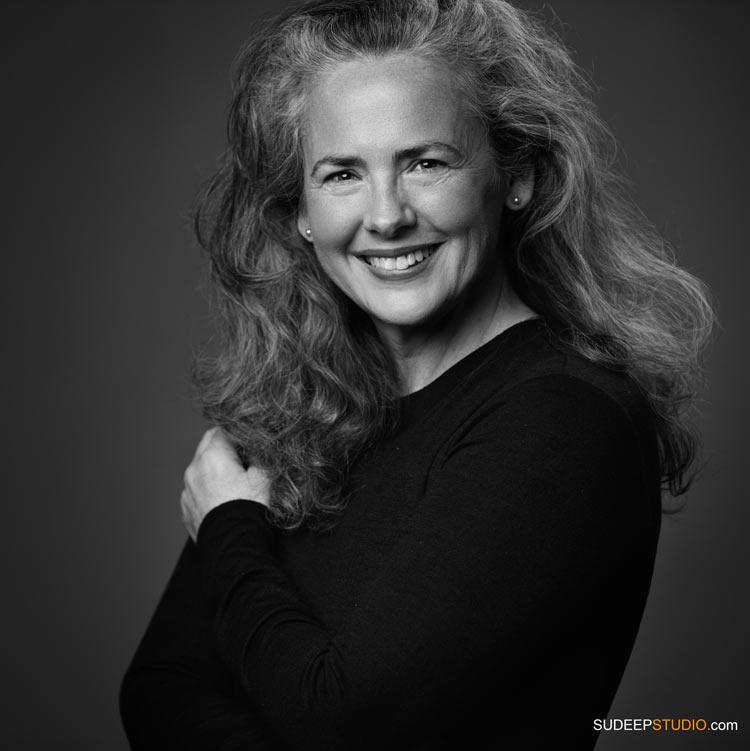Professional Custom Portraits for Artists Black White Personal Branding - SudeepStudio.com Ann Arbor Headshot Photographer