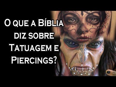 SOU CRISTÃO POSSO USAR PIERCINGS E TATUAGENS