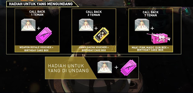 Call Back Teman Free Fire