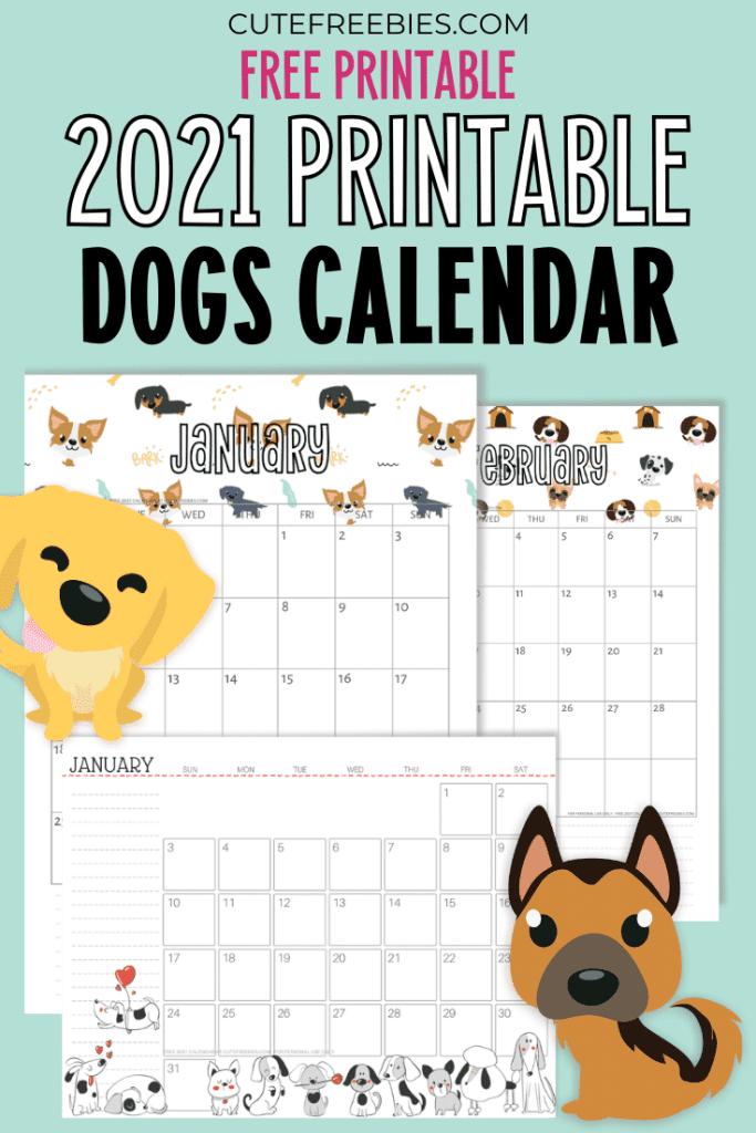 Musings of an Average Mom: Free printable 2021 Calendars