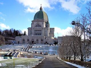 Oratoire St-Joseph du Mont-Royal in Montréal
